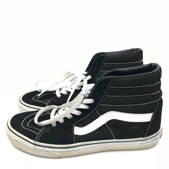 ae9d9ab008 Vans Sk8 Hi High Top Black Original Sneaker 9.5 11.  M 5bc0333a9539f750c27482f3